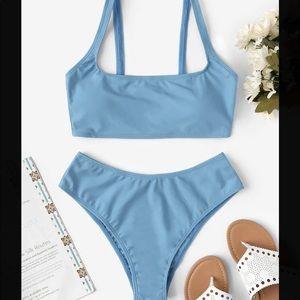 Blue bikini set size large